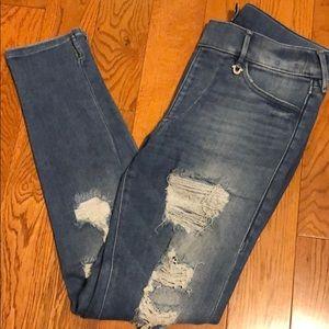 True Religion jean legging